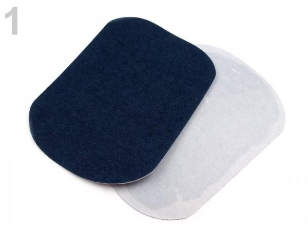 Bügelflicken, jeansblau dunkel