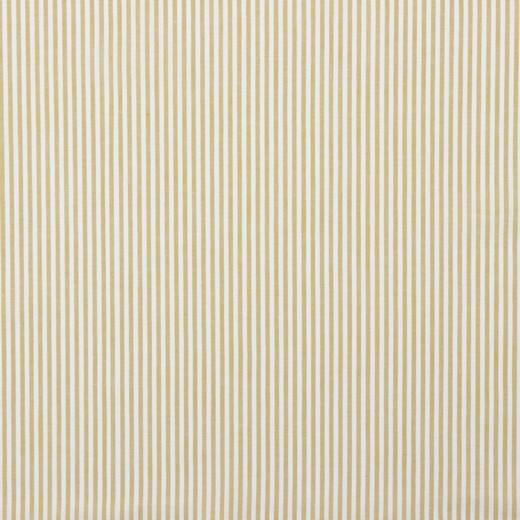 Streifenstoff senf, Yarn Dyed, Baumwollpopeline, waschbar bei 60°