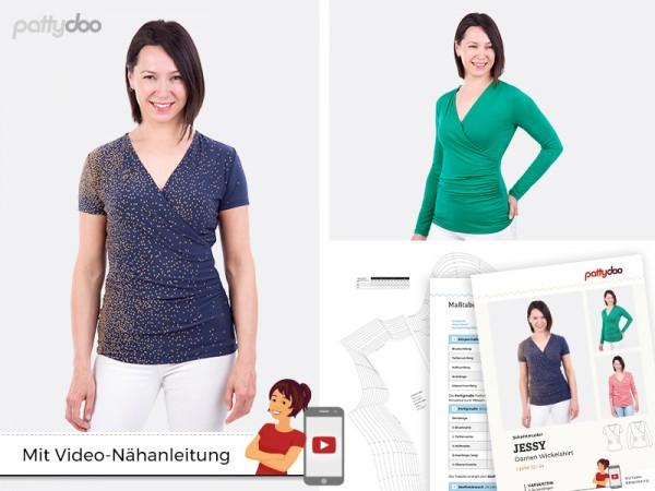 Jessy Damen-Shirt, pattydoo-Schnittmuster