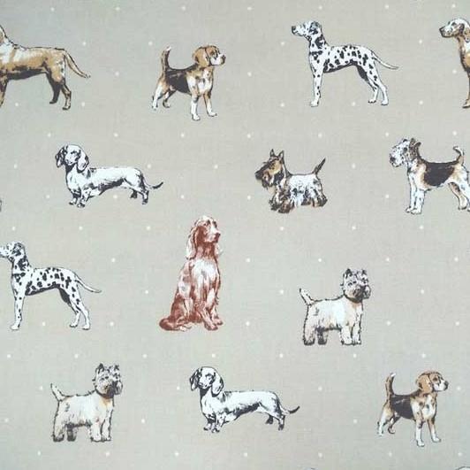 Dekostoff Hunde, Best in Show natur