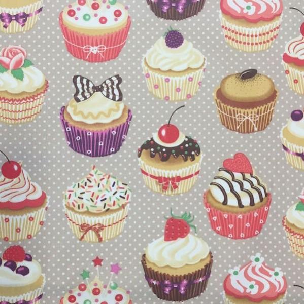 Cupcakes braun, Laminat