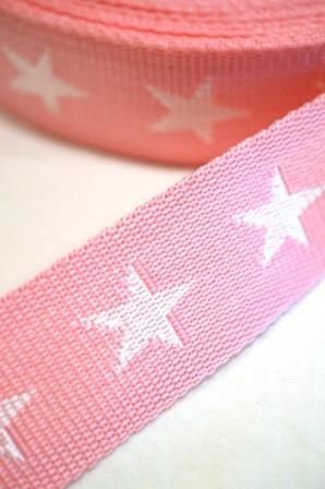 Gurtband, Sterne rosa