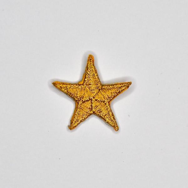 Applikation Stern, gold