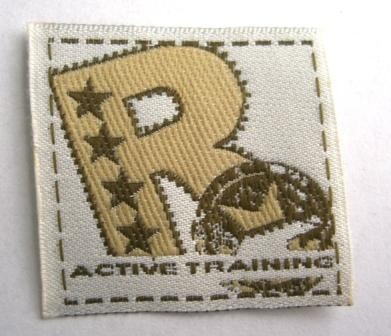 Active Training R, Webetikett *SALE*