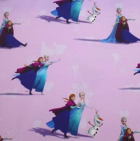 Digitaldruck Frozen Eiskönigin, rosa, Webstoff