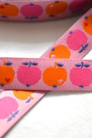 byGraziela Apfel, pink-orange, Webband