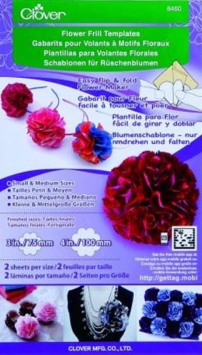 Yo-Yo Maker, Rüschenblume klein und mittel 8460