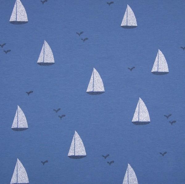 Ibiza, Boote auf blau, Jersey