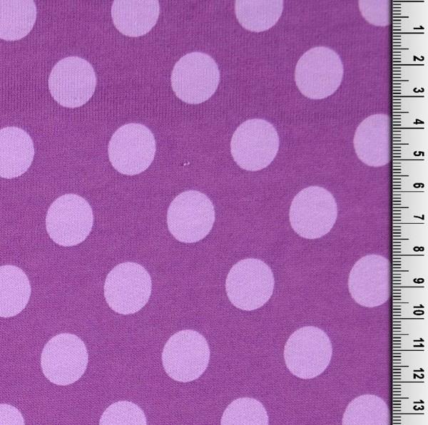 Emily Tupfen flieder auf violett, Kuschelsweat