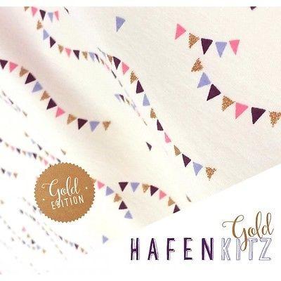 Hafenkitz Wimpel Gold Edition, creme, Jersey