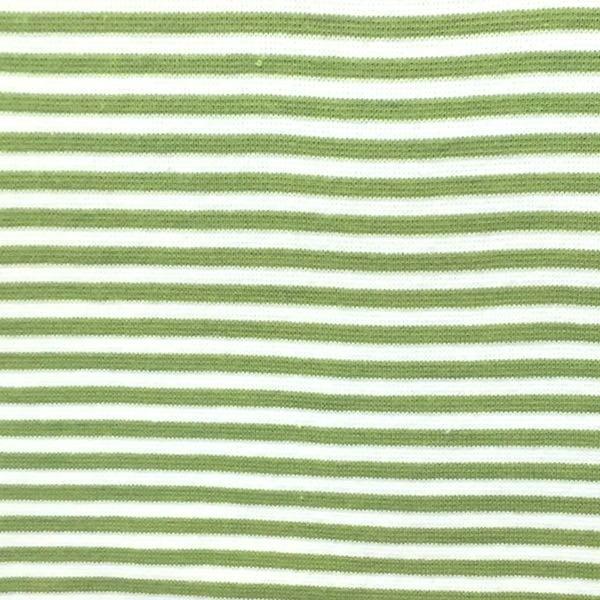 Florian, Ringelbündchen grün-weiß, gestreift