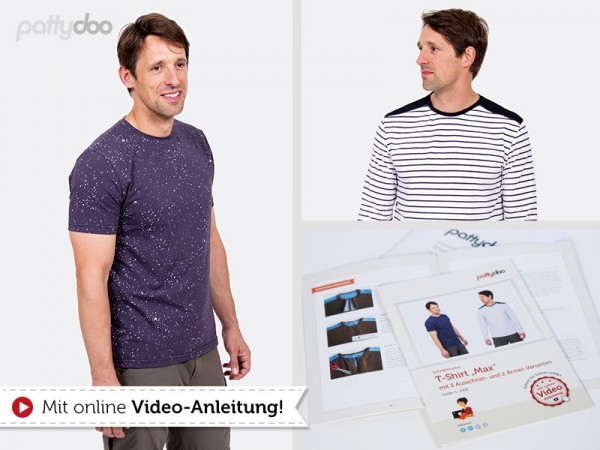 Max Männer-Shirt, pattydoo-Schnittmuster