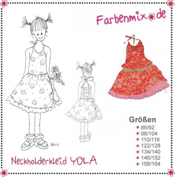YOLA, Neckholderkleid, FM-Schnittmuster *SALE*