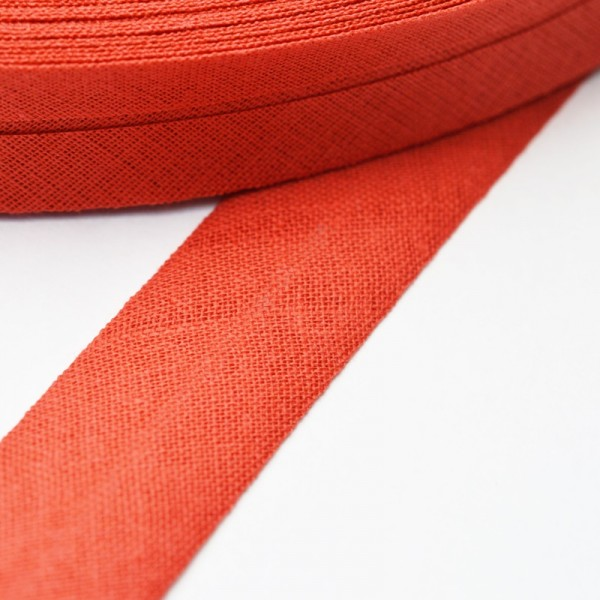 Schrägband, 20 mm, terracotta