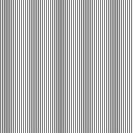 Lili Streifen grau, Popeline, waschbar bei 60°