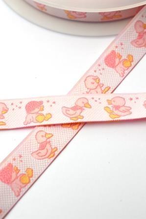 Quack Quack, rosa, Webband