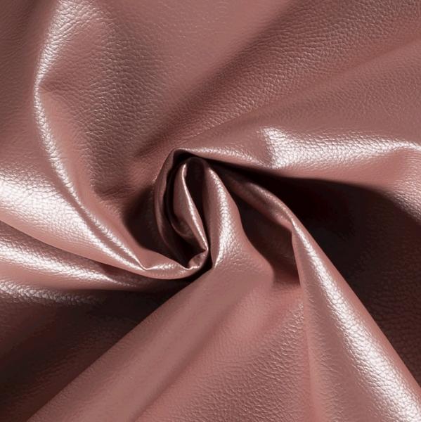 Bruno, Lederimitat, rosa metallic