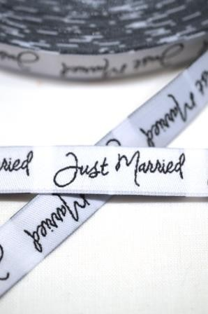 Just Married Shabby, Webband *SALE*