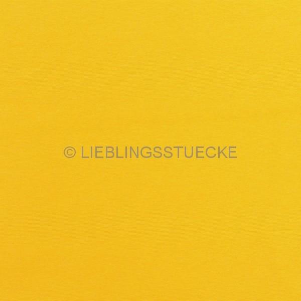 Glattes Bündchen gelb
