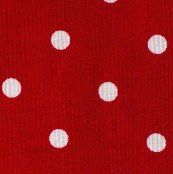 Leon, Punkte weiß auf rot, Jersey