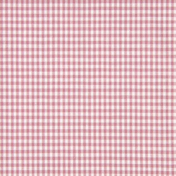 Vichykaro, klein, altrosa-weiß kariert, waschbar bei 60°