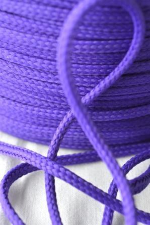 Schnur, 4 mm, dunkles violett
