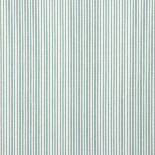 Streifen dunkles mint, Yarn Dyed, Baumwollpopeline, waschbar bei 60°