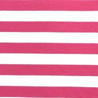 Alberto Bio-Jersey Streifen pink/weiß
