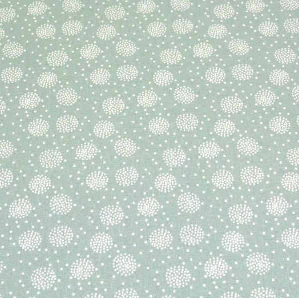 Laminat/Wachstuch, Flowerball mint
