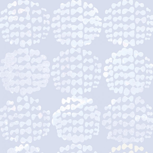 Cotton+Steel, Snow Flowers hellgrau, Baumwollstoff