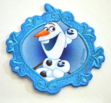 Applikation Frozen Olaf Framed