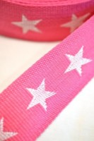 Gurtband, Sterne pink