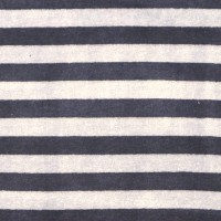 Nicky Streifen breit, beige/dunkelblau
