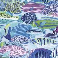 Free Spirit Exotic Fish Lagoon, Webstoff