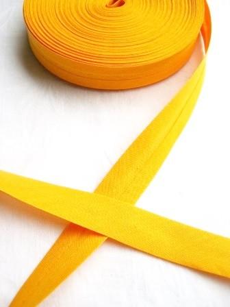Package Schrägband, 20 mm, sonnengelb - 10 Meter