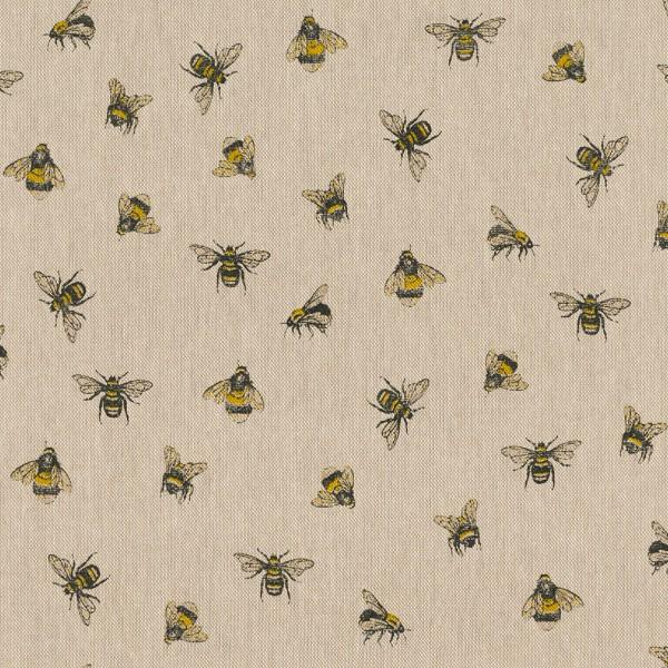 Dekostoff, Bienen auf leinen