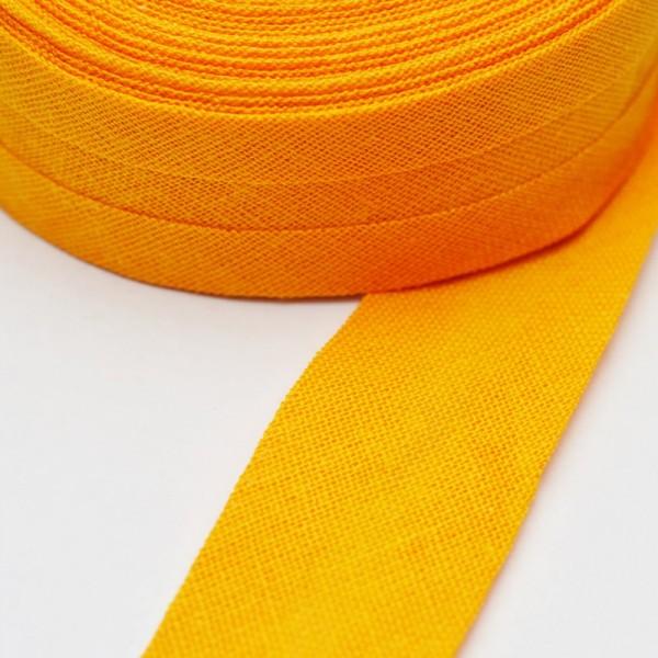Schrägband, 20 mm, safran
