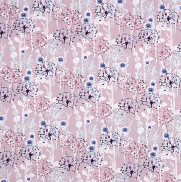 Digitaldruck Wonderflowers fliederrosa Jersey