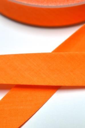 Neon-Schrägband, 20 mm, orange