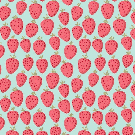Glitzer-Strawberry mint, Sweat