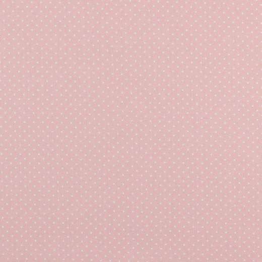 Lili Punkte klein, hellrosa, Webstoff, waschbar bei 60°