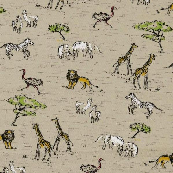 Jersey, Safari beige-meliert