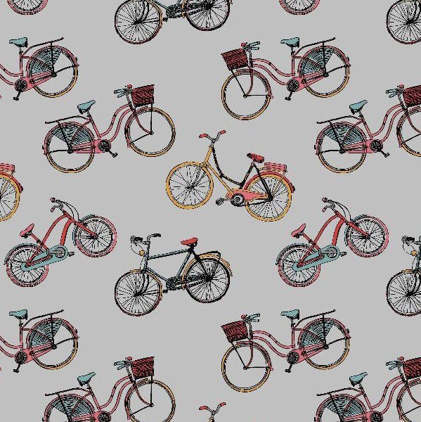 Bikes grau, Webstoff