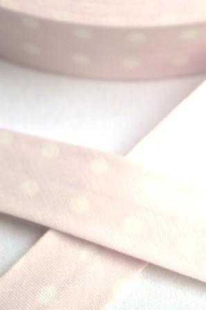 Westfalen Schrägband, große Punkte, rosa