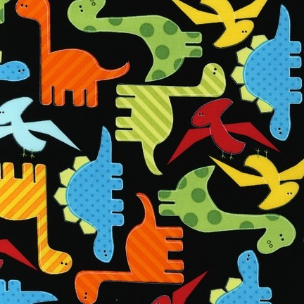 R. Kaufman, Urban Zoologie, Dinos schwarz