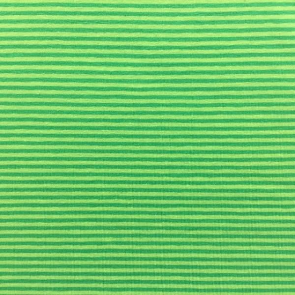 Lola Ministreifen hellgrün-grasgrün, Jersey