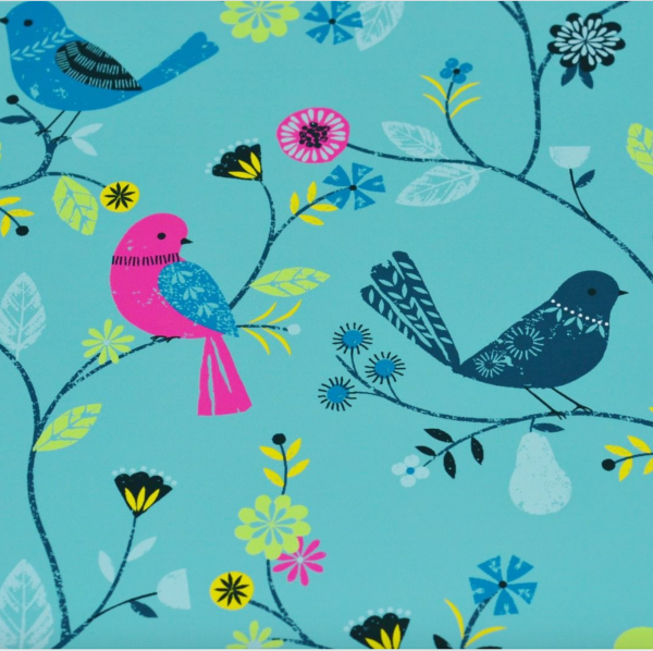Vögelchen am Zweig mint, Sweat