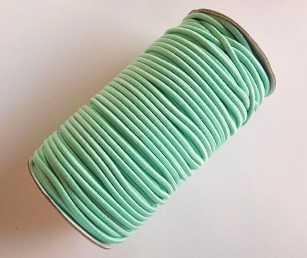 Gummischnur, 3 mm, mint