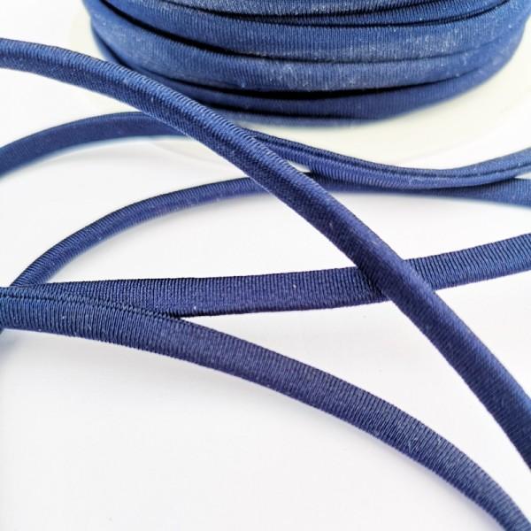 Trägergummi, dick, dunkelblau