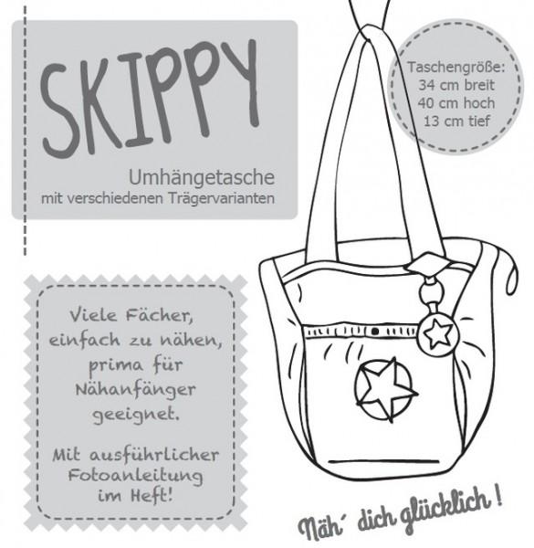 SKIPPY, Umhängetasche, FM-Schnittmuster